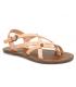 Chattawak Margot abricot (rose), sandale entre doigts pour femmes
