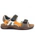Sandale Inblu T0093C01 Tundra, nu-pieds velcro pour hommes