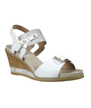 Sandales ixou blanche fugitive