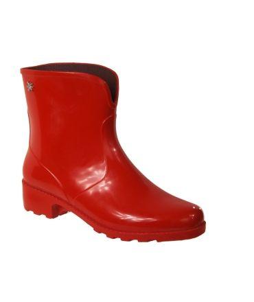 Méduse camaro rouge bottes cahoutchouc