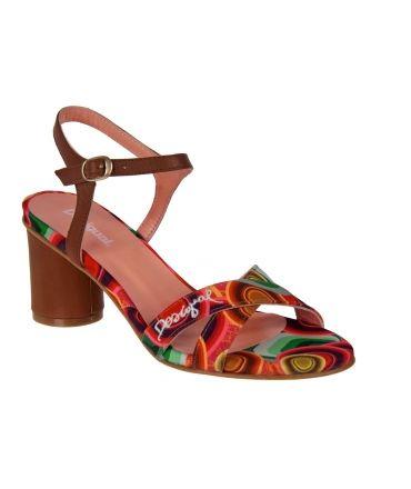 Desigual sandale à talon bride cheville