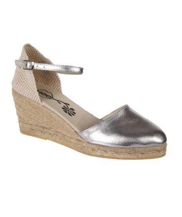 Espadrille cordes et cuir Hee Shoes