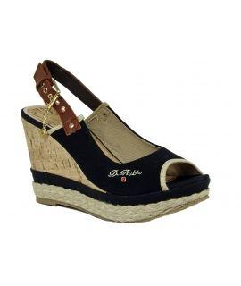 Sandales compensées Dulcerubio Street collection
