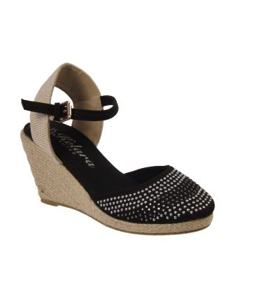 Sandales compensées cordes Kelara