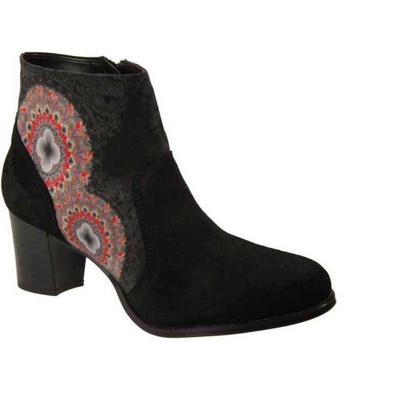 Hiver Boots Collection Calei Noir Cuir Desigual Et Beaux Bottines AHqwnUwZ