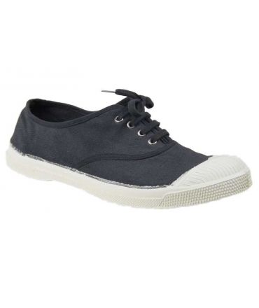 Bensimon tennis lacets gris 802