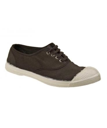Bensimon collection, tennis lacets chocolat