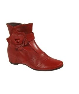 Bottines Laura Vita Lettre rouge
