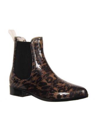 Boots basses de pluie élastiques Kelara
