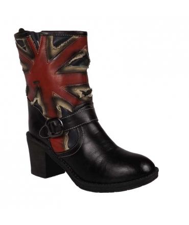 Boots drapeau Anglais Diana kelara shoes