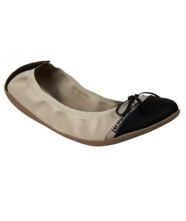 Ballerines LPB-Shoes Caprice beige-noir
