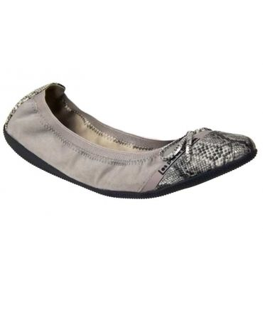 Ballerines Lpb-shoes Caprice serpent gris