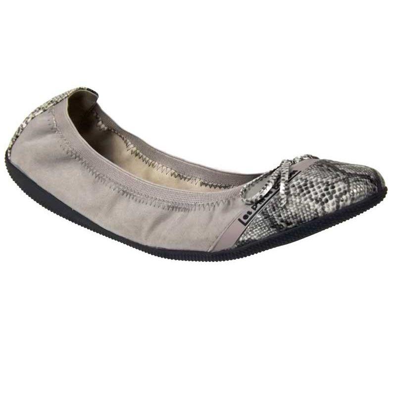 e9fc18a4220f0 Ballerines Lpb-shoes Caprice serpent gris. Loading zoom