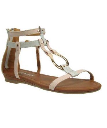 Elue par Nous sandales Rxarene blanc