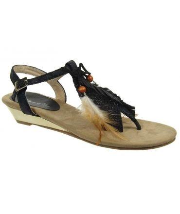Métamorfose sandale Rabob noir