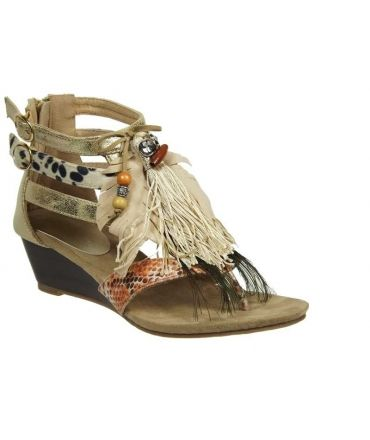Métamorfose sandale Ranufil or