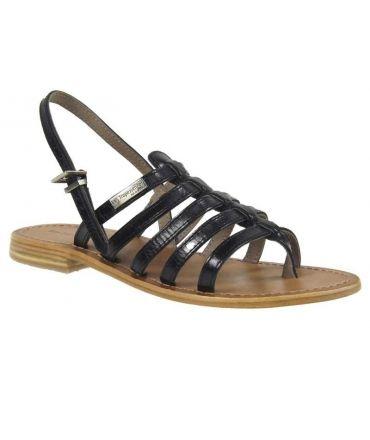 Les Tropéziènnes sandales Hérisson noir