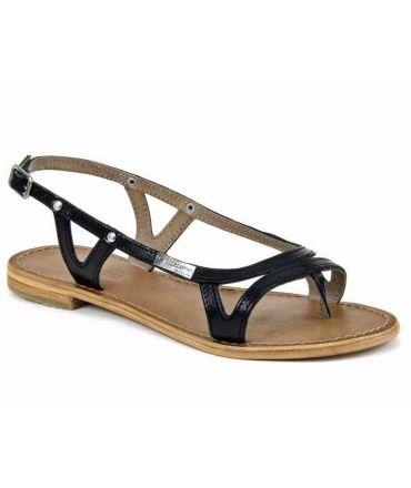 Les Tropéziennes sandales Isatis noir