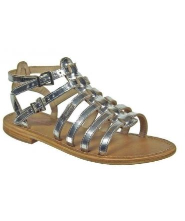 Les Tropeziennes sandales Hic argent