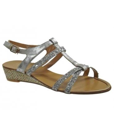 Elue par Nous sandale Rsxam gris