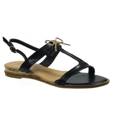 Elue par Nous sandale Rsucre noir