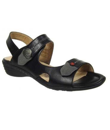 Sandale confort Relife Rime noir