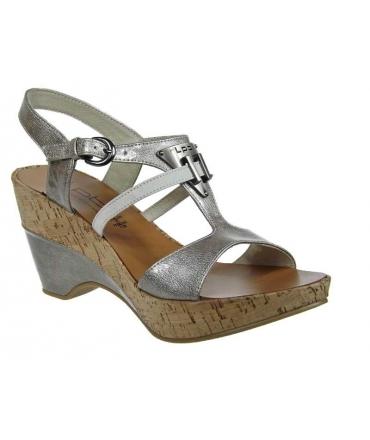 Sandale Les P'tites Bombes Hawai gris