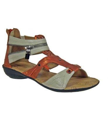 Sandale plate Fugitive Abba