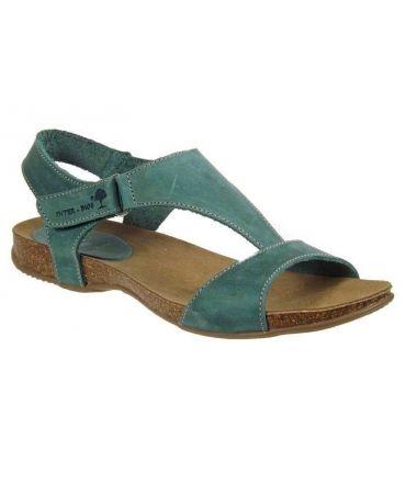 Inter-Bios sandale cuir 4420 Jeans