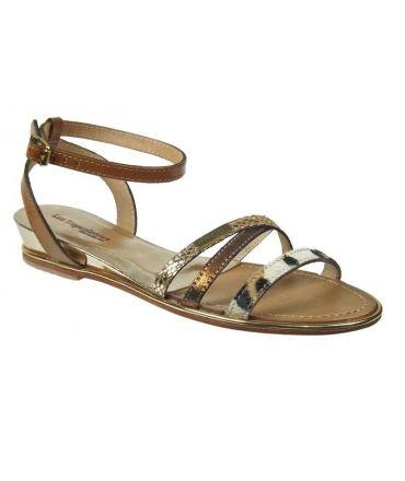 Les Tropéziennes sandale Bianka tan