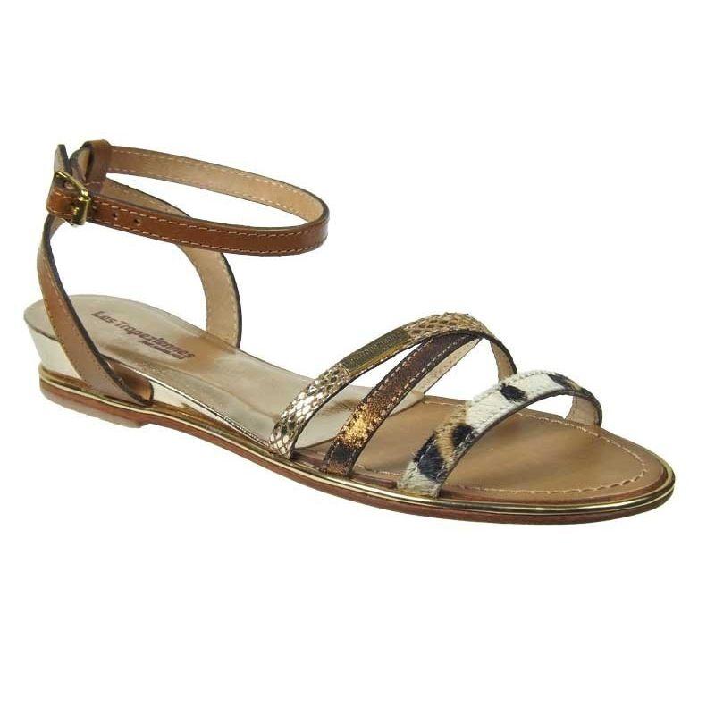 b7abe4729c8e42 Les Tropéziennes Bianca, sandale à talon, prix - 69 €