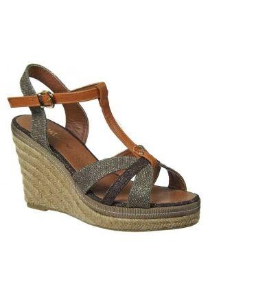 Sandales cordes Kelara shoes taupe
