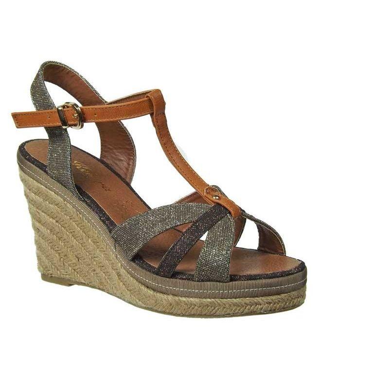 59a1b450fdb Sandales cordes Kelara shoes taupe. Loading zoom