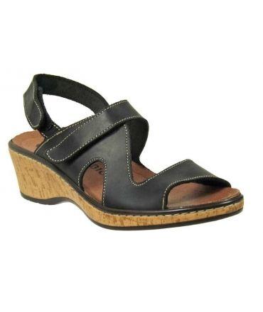 Inter-Bios sandale compensée 3015 noir