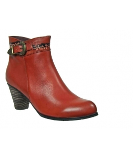 Bottines Laura Vita Tarin rouge
