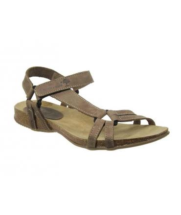 Inter Bios 5412 sandale cuir & liège confortable brun