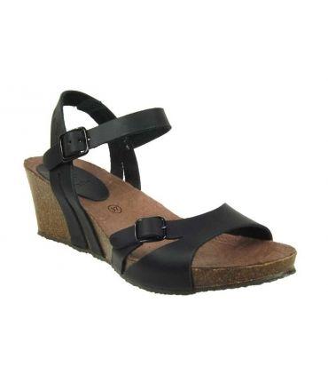 Inter Bios 5612 sandales compensée cuir