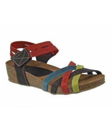 Sandale Inter Bios 5338 cuir confortabla, multi couleur semelle anatomique