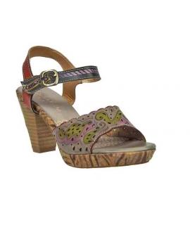 Laura Vita sandales à talon Véto gris, nouveauté