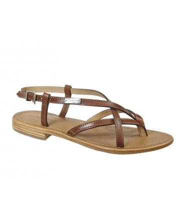 Sandales Les Tropéziennes Hiboux marron
