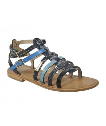 Les Tropéziennes sandales Baille bleu multi, nouvelle collection été