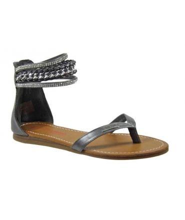 Sandales Les Tropéziennes Gano gris, nouvelle collection