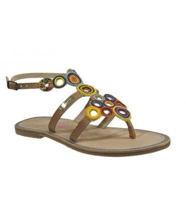 Les Tropéziennes sandales Ofélie beige nouveauté