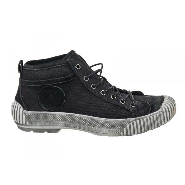 ventes kdopa basket winston noir chaussures en toile montantes. Black Bedroom Furniture Sets. Home Design Ideas