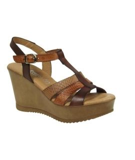 Eva Frutos sandale compensée 6975-marron multi