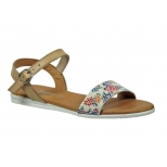 Sandale plate Eva Frutos-5190, beige