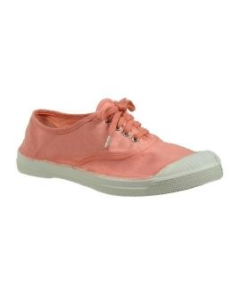 Bensimon tennis lacets rose ballerine