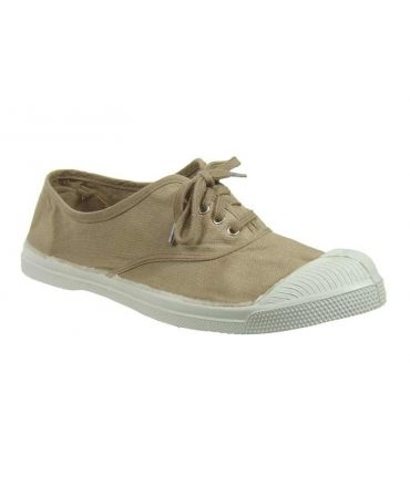 Bensimon tennis lacets coquille, beige