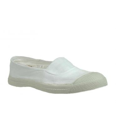 Bensimon ballerine elastique blanc
