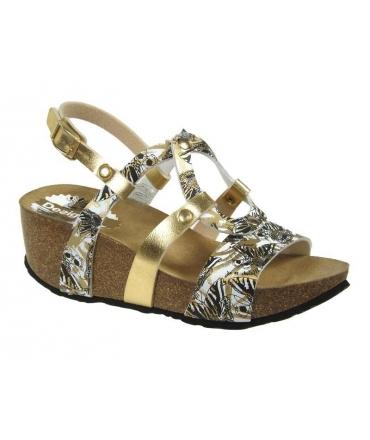 Desigual sandale compensée confort, Anissa Butterfly